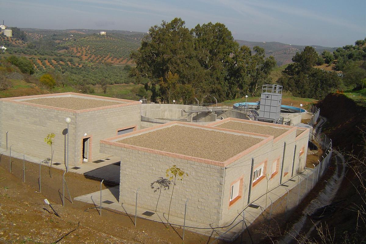 Estación depuradora y colectores (Montoro, Córdoba)